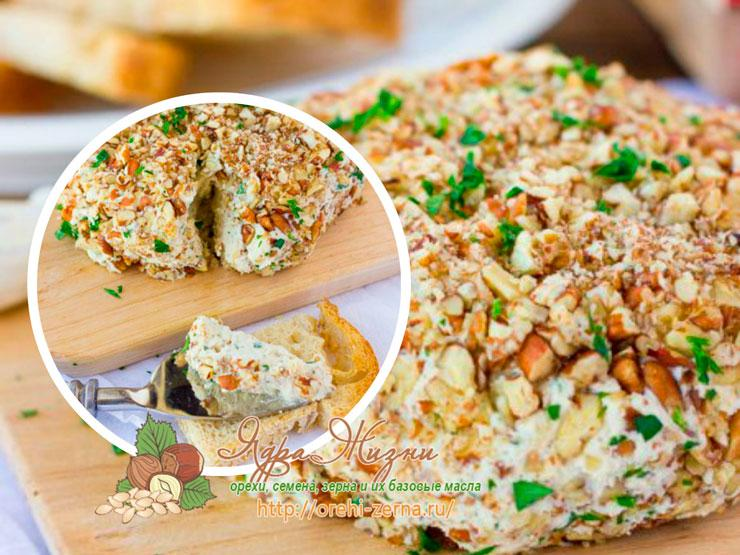 Сыр с кешью для сыроедов