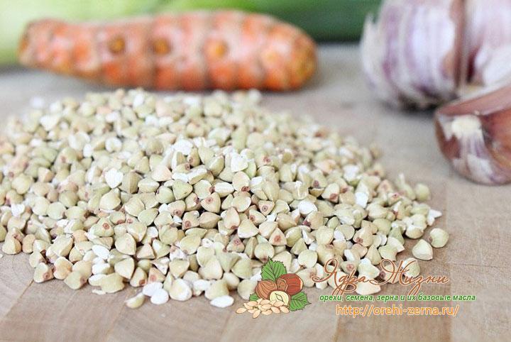 Полезные свойства зеленой гречки для здоровья