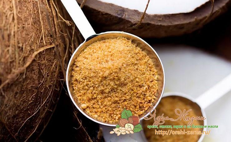 Сахар из кокосового ореха: польза и противопоказания