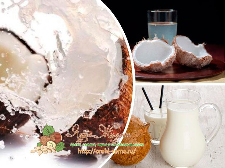 Кокосовое молоко и кокосовая вода - то же самое?