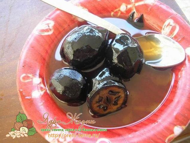 рецепт варенья из маньчжурского ореха