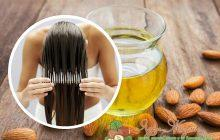миндальное масло для секущихся волос