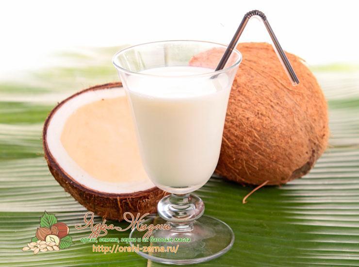 Молоко кокоса: польза и применение