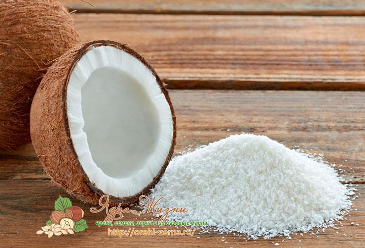 Полезные свойства кокосовой стружки