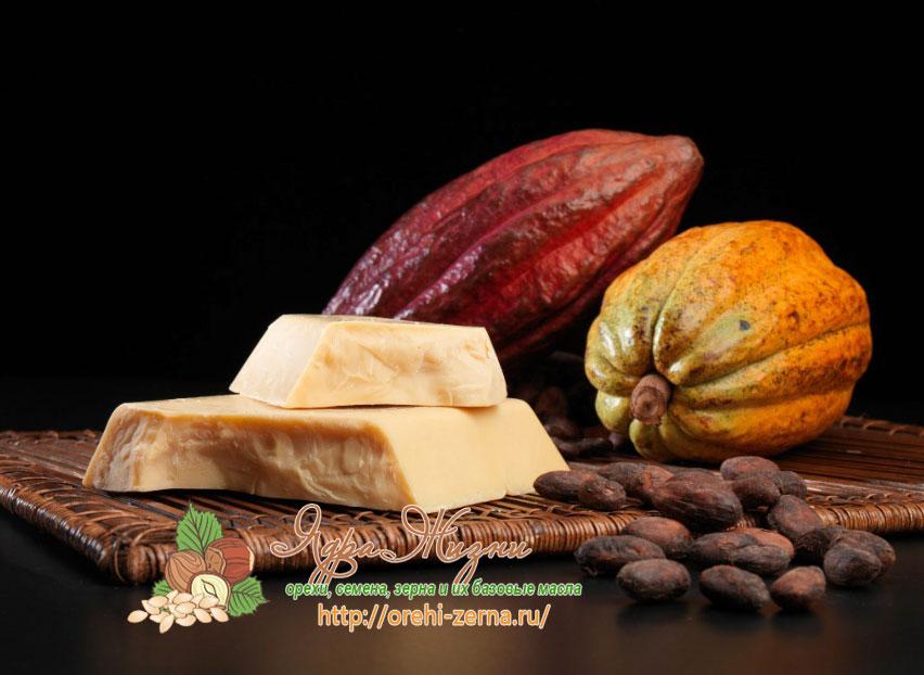 масло какао для еды