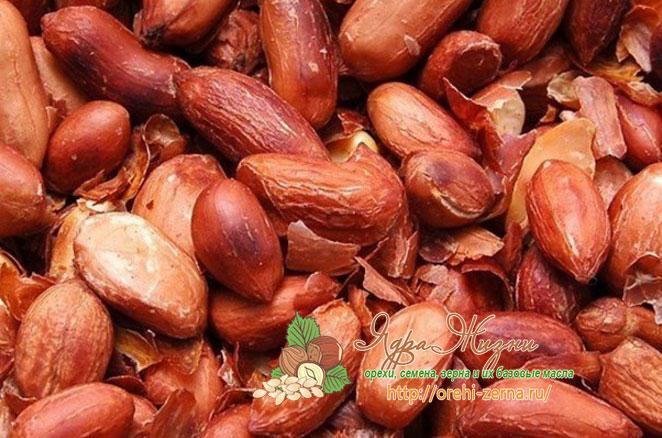 Жаренный арахис польза для организма