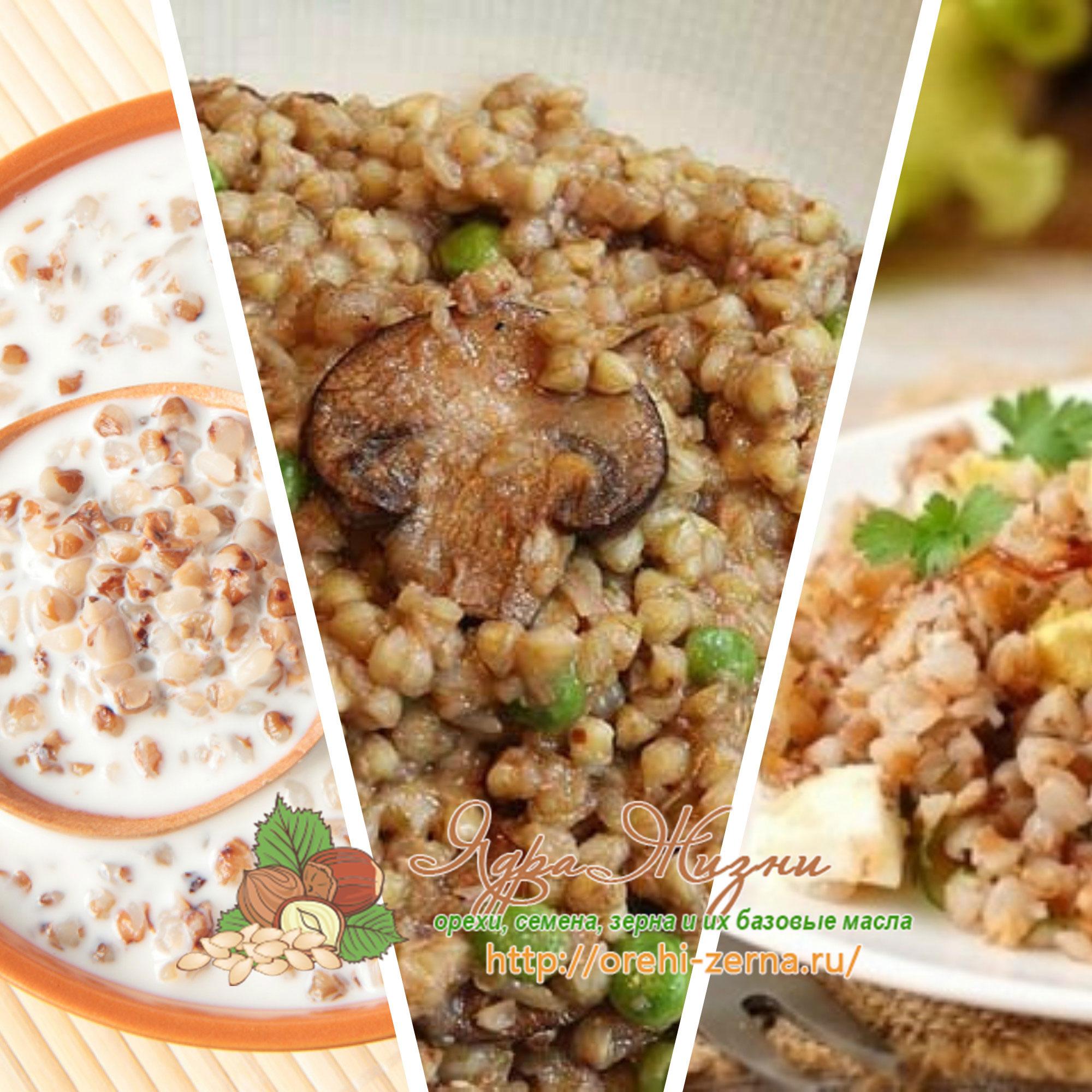 блюда с гречкой