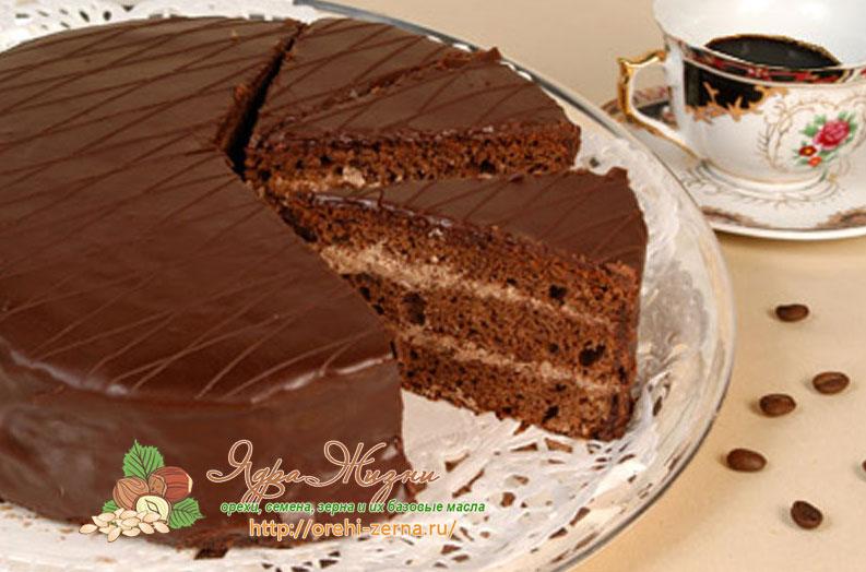 торт из какао рецепт