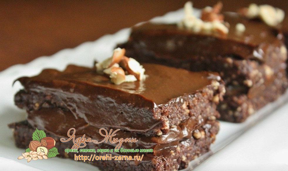 торт из какао