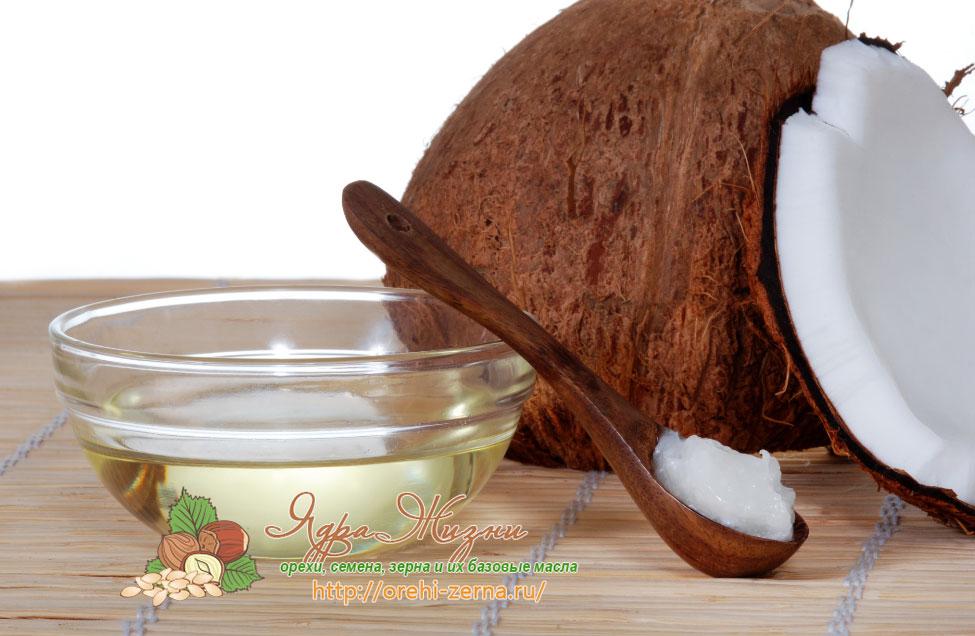 массаж с кокосовым маслом