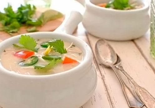 суп на кокосовом молоке
