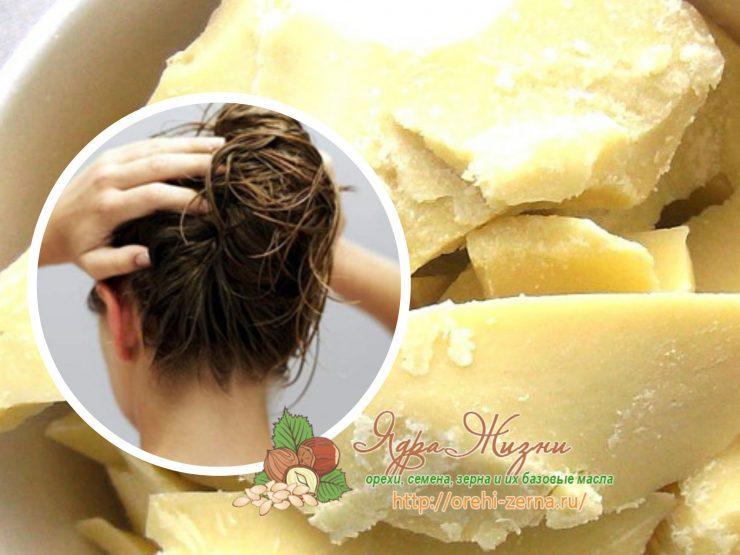Масло какао для волос: польза и применение