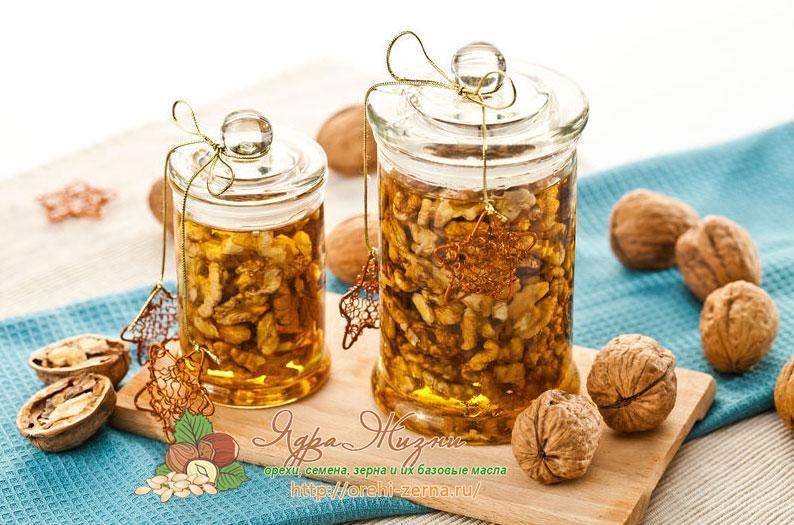 Мёд и орехи член