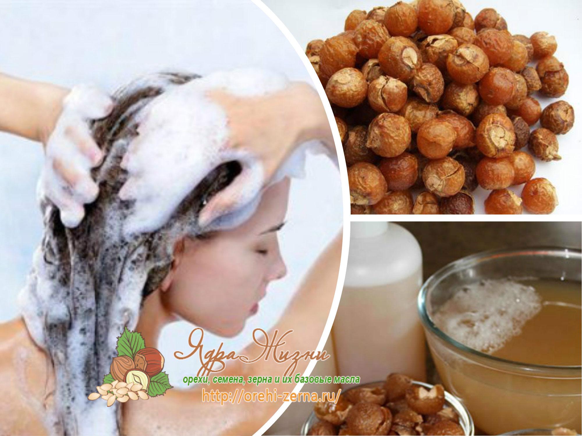 мыльные орехи для волос
