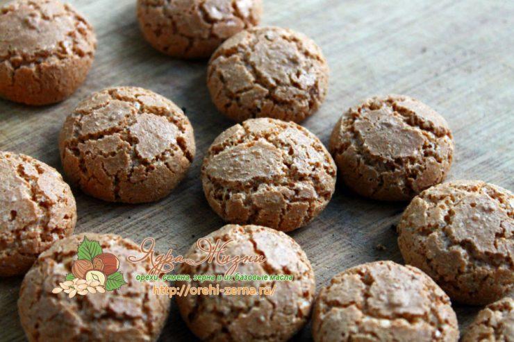 печенье Амаретто рецепт