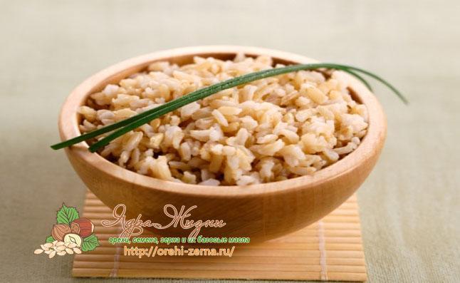 бурый рис для похудения