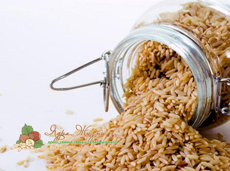 бурый рис полезные свойства
