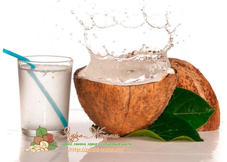 Польза кокосовой воды: применение в кулинарии