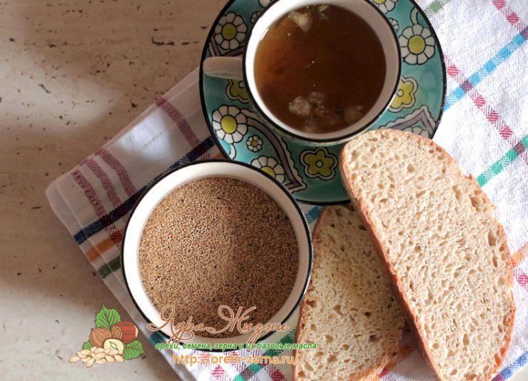 Хлеб из амарантовой муки