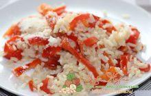 рис с тушенным перцем