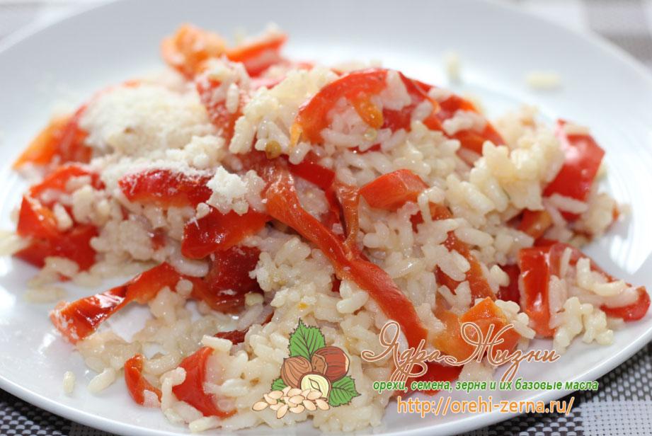 рис с перцем