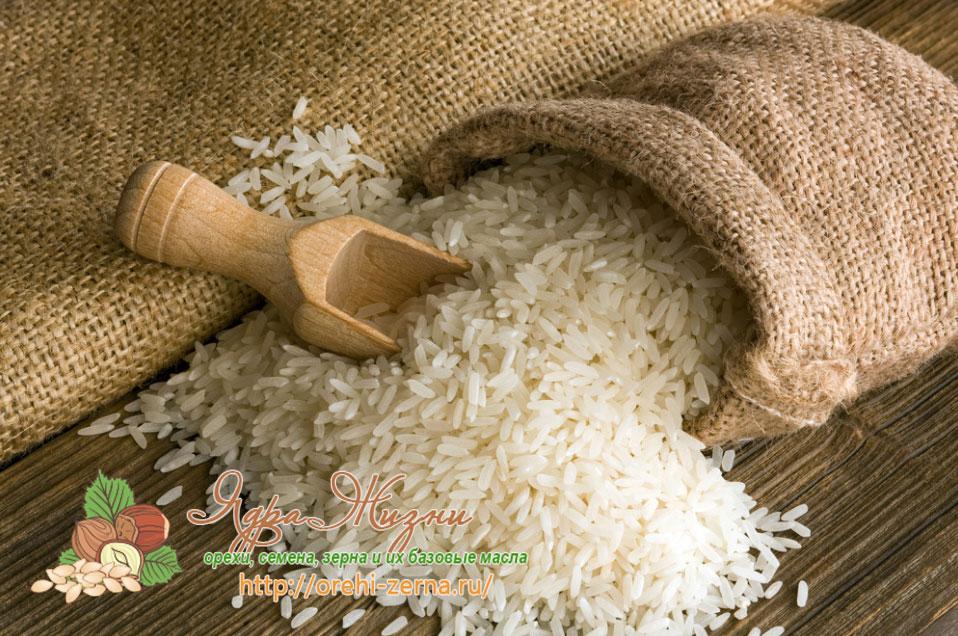 как хранить рис
