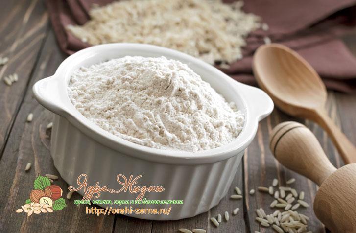 полезные свойства рисовой муки