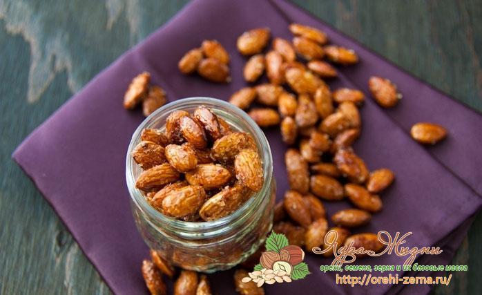 как готовить миндальные орехи