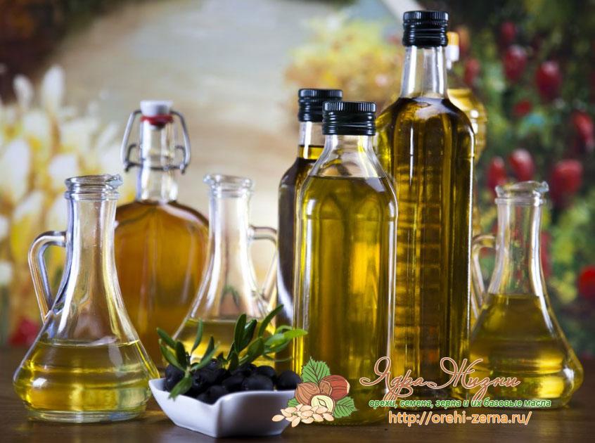 растительные масла в кулинарии
