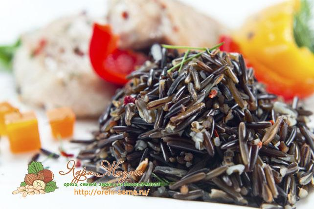 рецепты с диким рисом