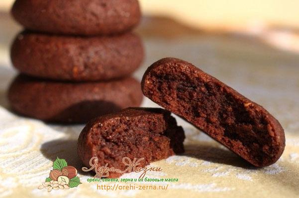 кофейное печенье на кокосовом масле