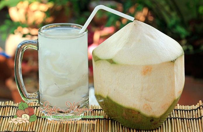 полезные свойства кокосовой воды для организма