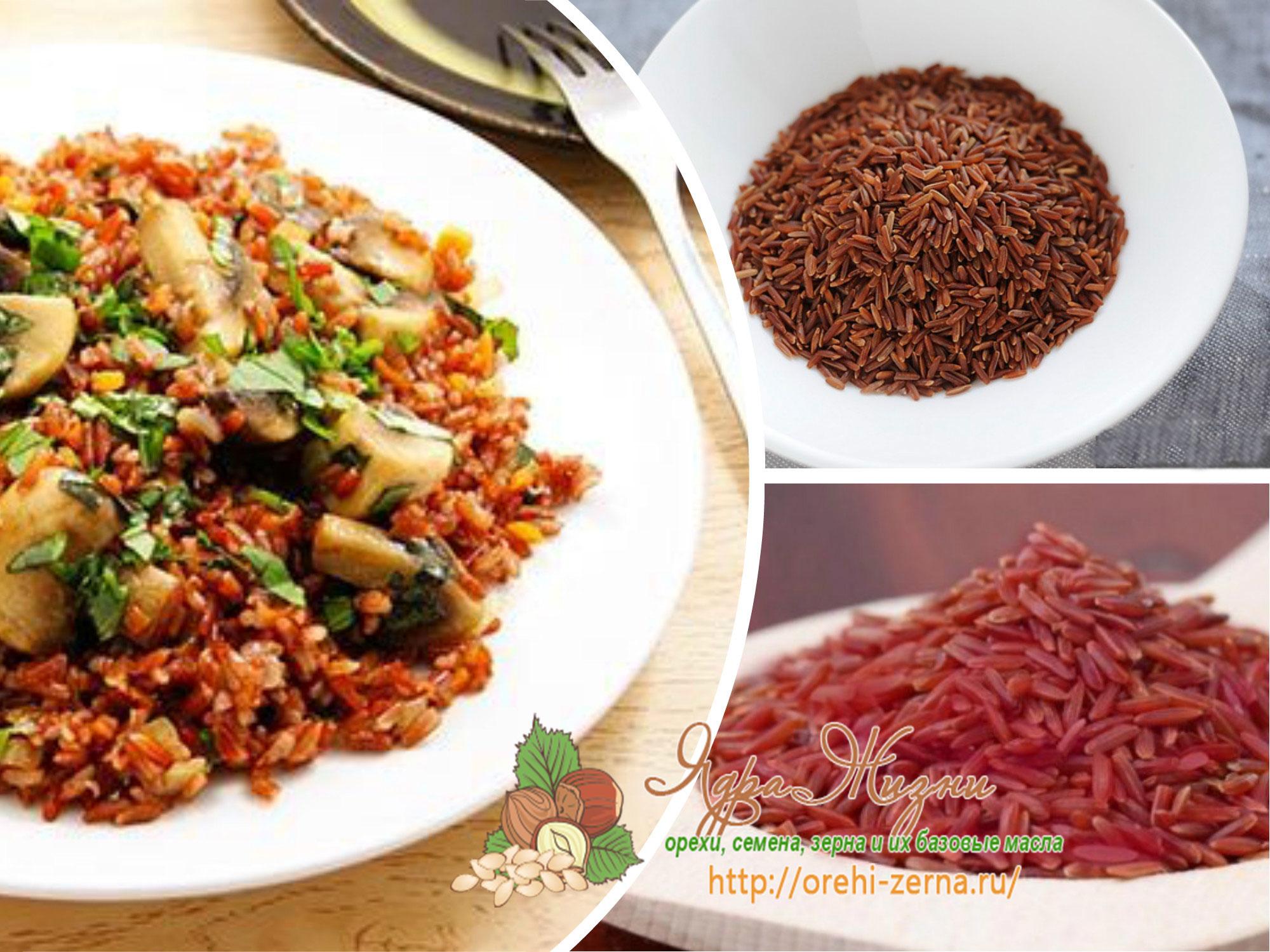 красный рис от холестерина