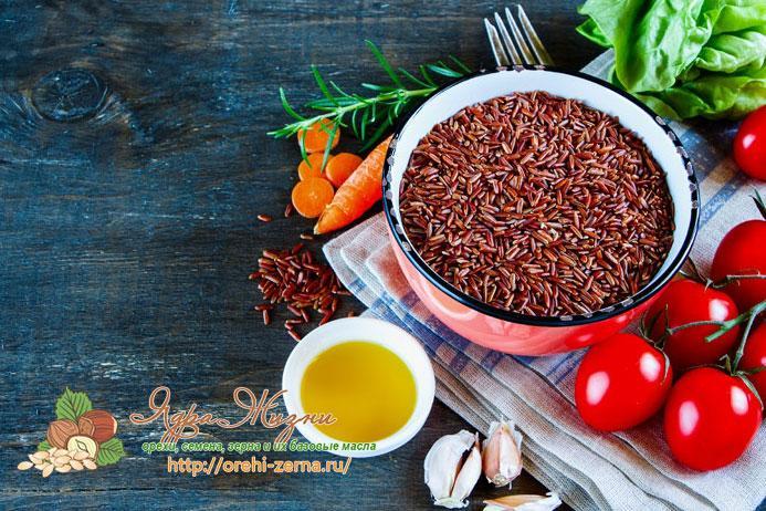 как готовить красный рис
