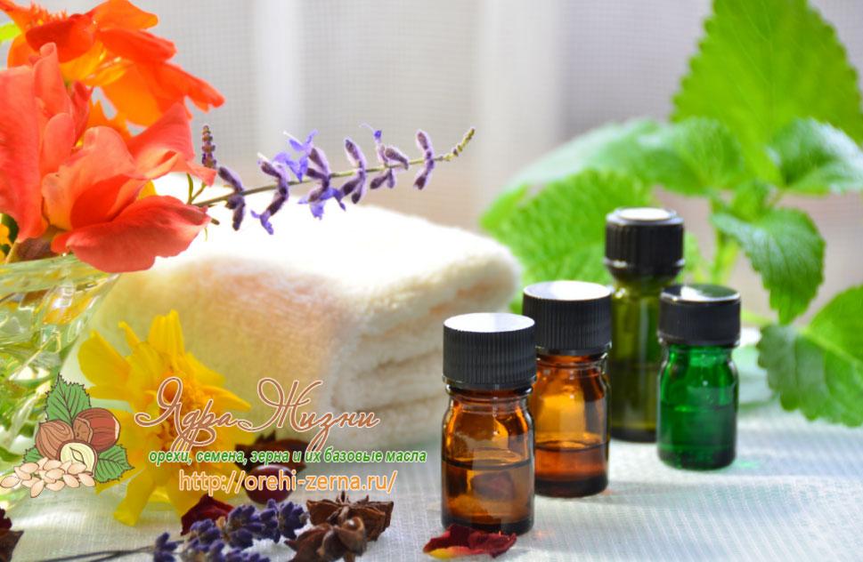 масла в ароматерапии