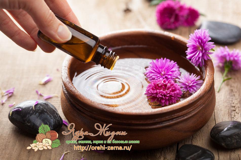 масла в ароматерапии как смешать