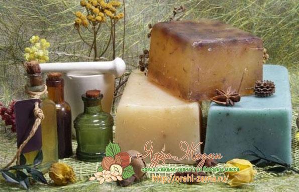 масла в мыловарении
