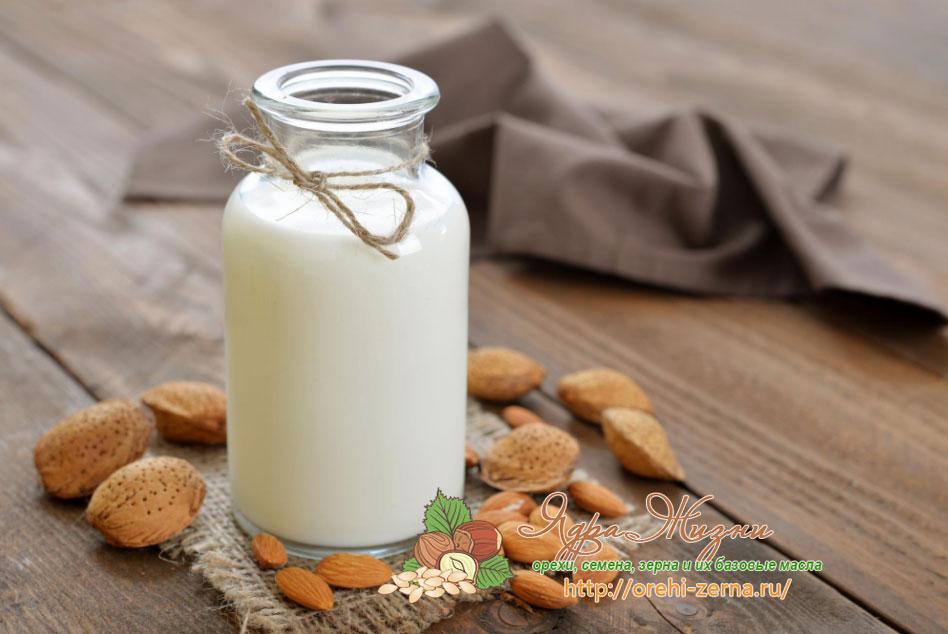 миндальное молоко в кулинарии