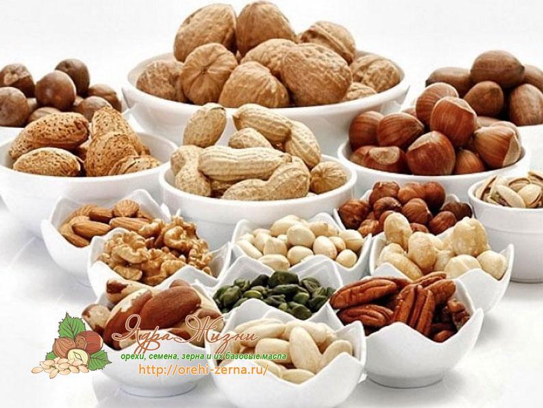 орехи для женщин
