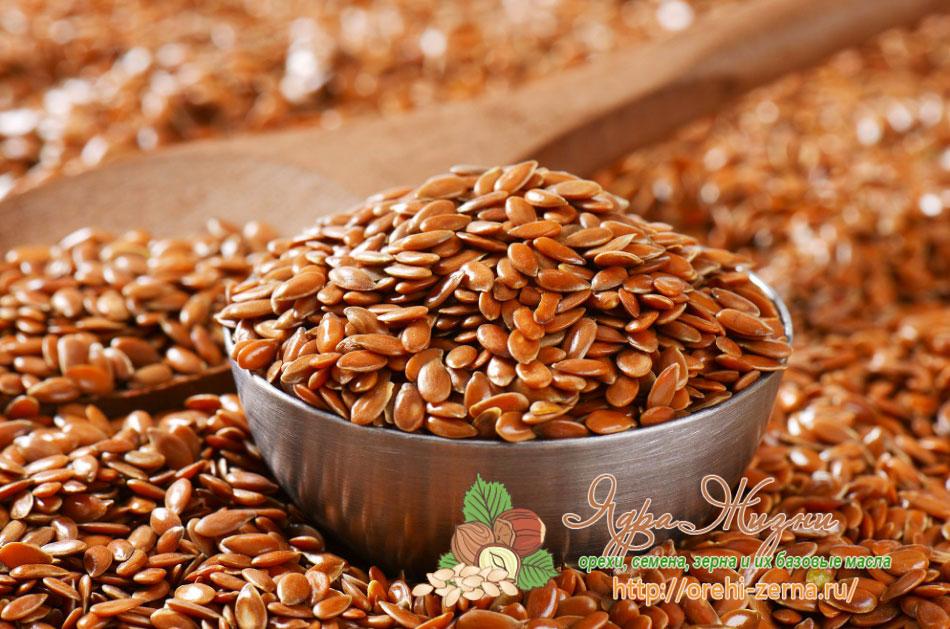 семена льна от холестерина рецепт