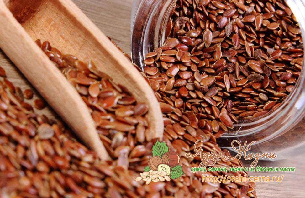 Льняное семя от варикоза