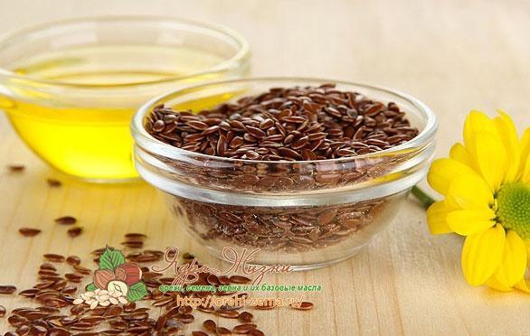 масло семян льна