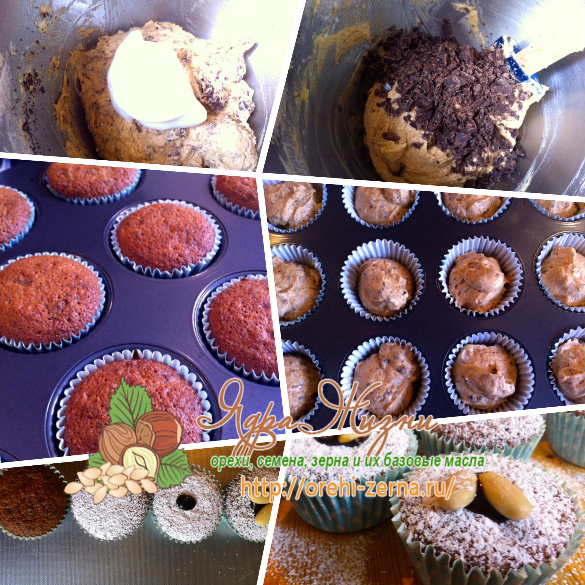 как приготовить кексы амаретто