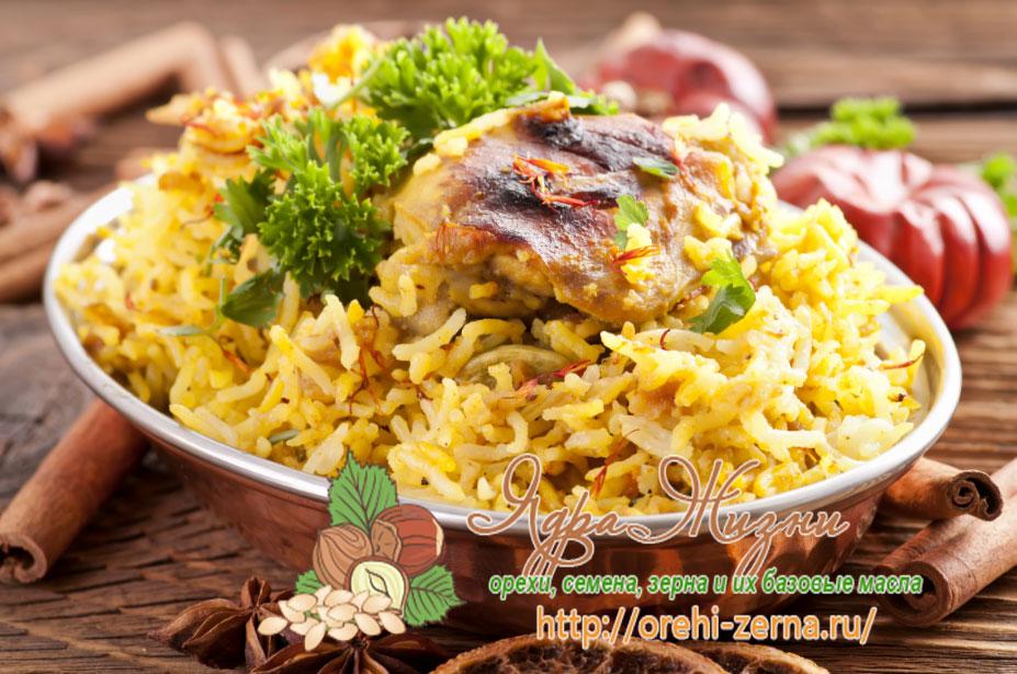 цыплята с рисом