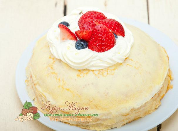 Классический блинный торт рецепты