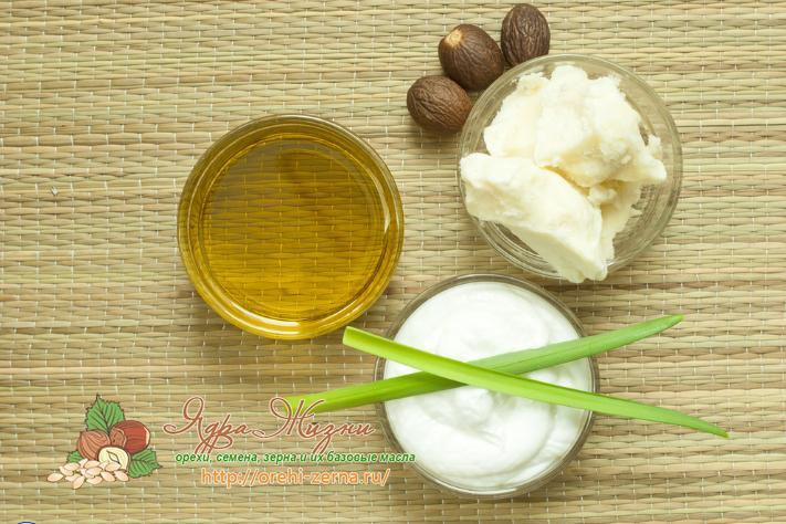 крем для лица с маслом ши (карите)