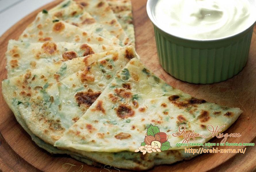 нутовые лепешки индийский хлеб