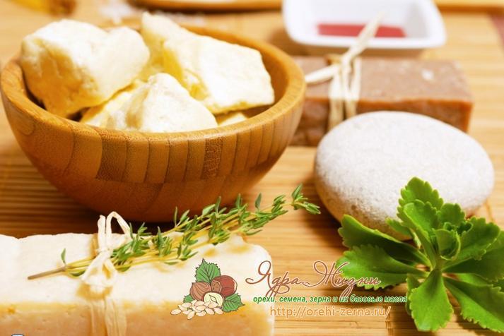 масло ши в мыловарении