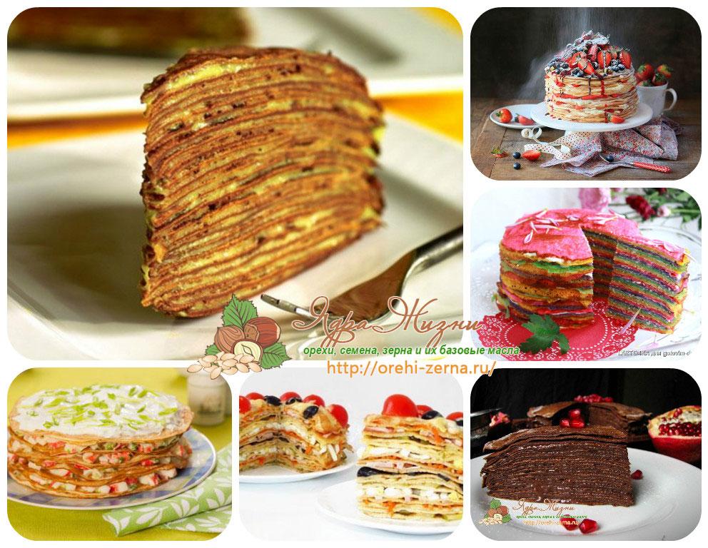 блинный торт рецепты