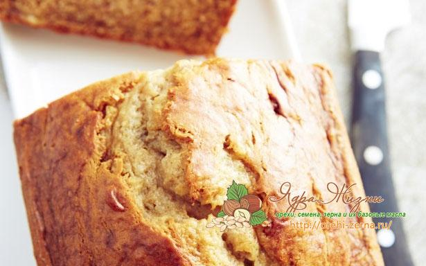 влажный банановый хлеб
